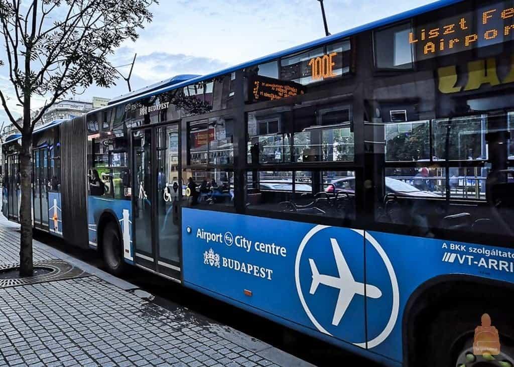 Автобус 100Е (Аэропорт – центр города)