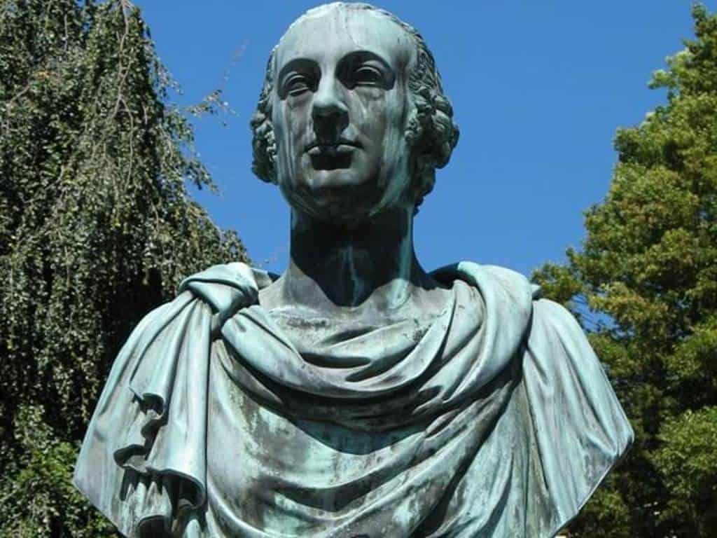 Бюст графа Фердинанда Аттемса (1746-1820)