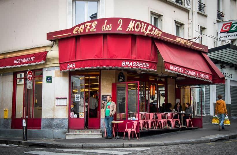 Кафе Две мельницы - Кафе Амели, Париж