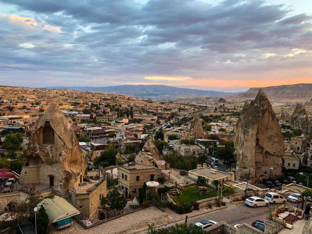 Гёреме — самый популярный город в Каппадокии