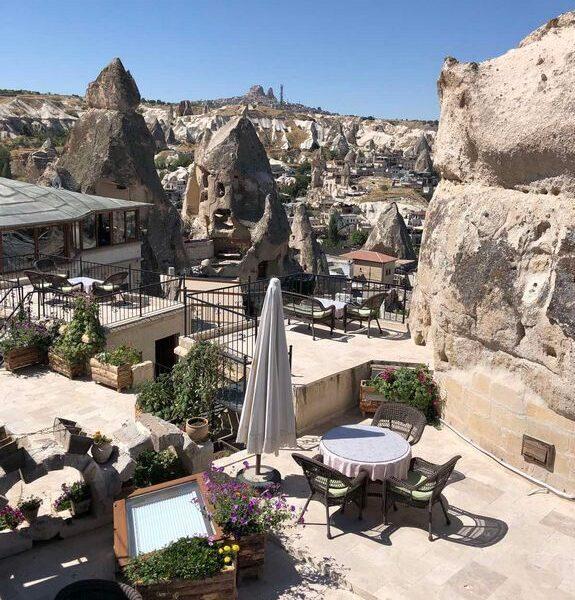 Каппадокия - необыкновенно красивое место в Турции
