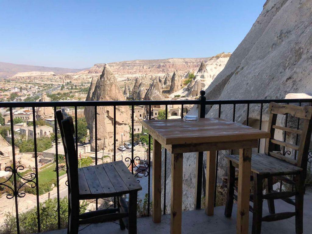 Уникальные ландшафты центральной Анатолии в Турции