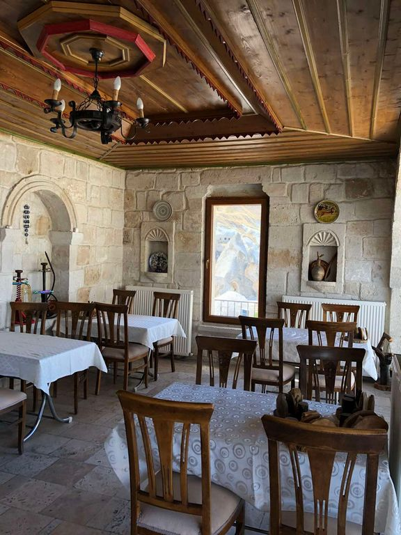 Ресторан отеля в Каппадокии