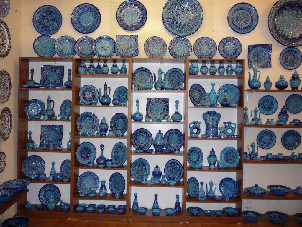 Местная керамика в Каппадокии