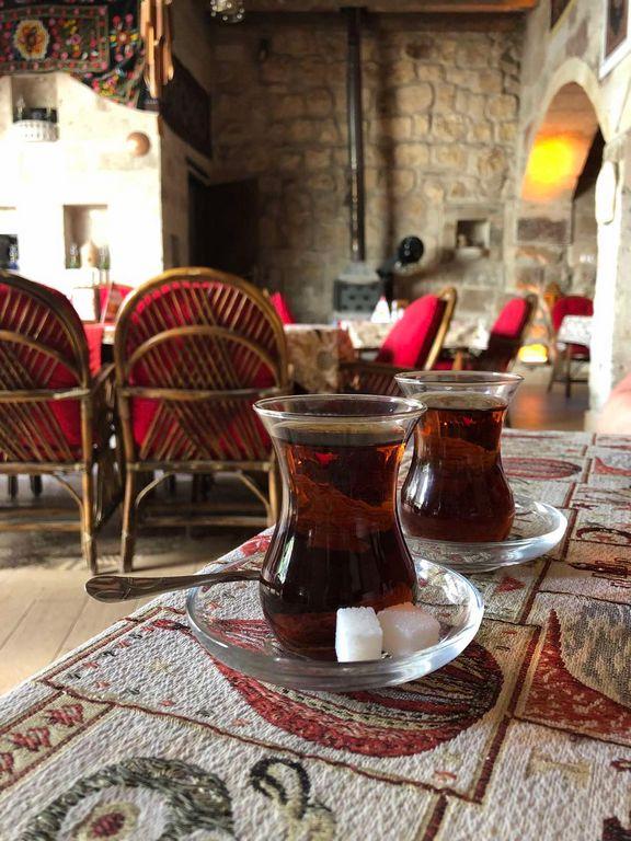 Турецкий чай в Каппадокия (Турция)