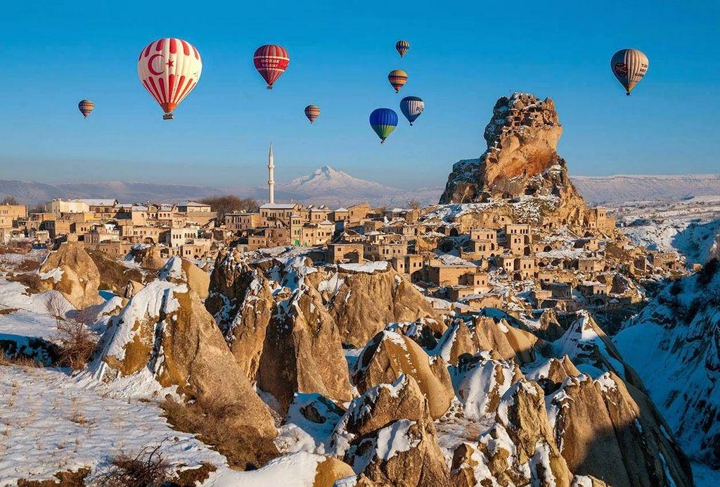 Восхититься пейзажами и встретить рассвет в корзине воздушного шара
