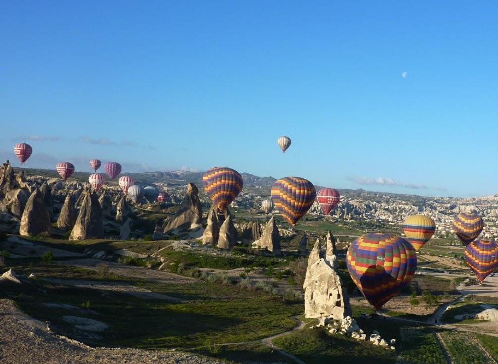 Полеты на шарах в Турции