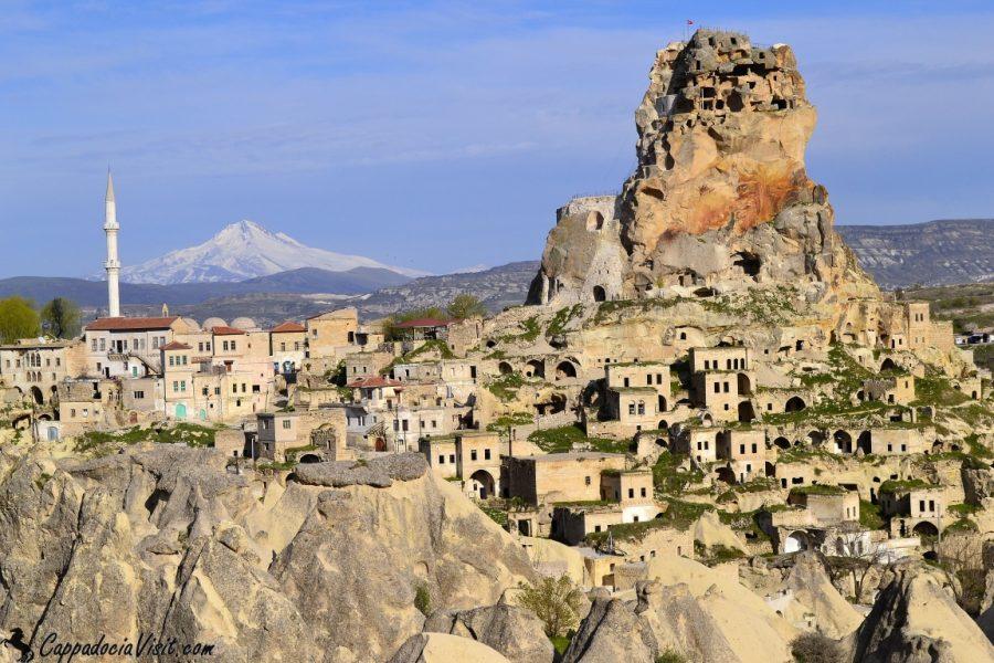Городок Ортахисар – Одно из самых красивых мест Каппадокии