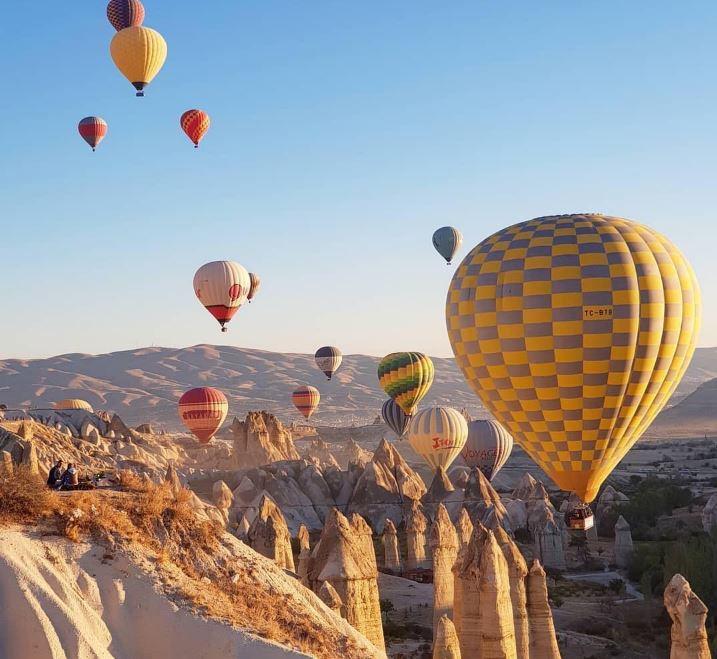 Каппадокия - воздушные шары и сказочные ландшафты - Hot Air Ballooning Cappadocia, Гёреме
