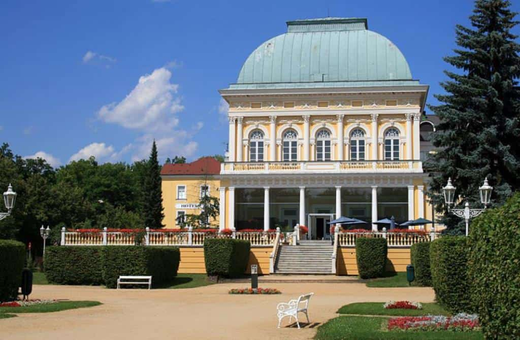 Casinos in the city of Frantiskovy Lazne