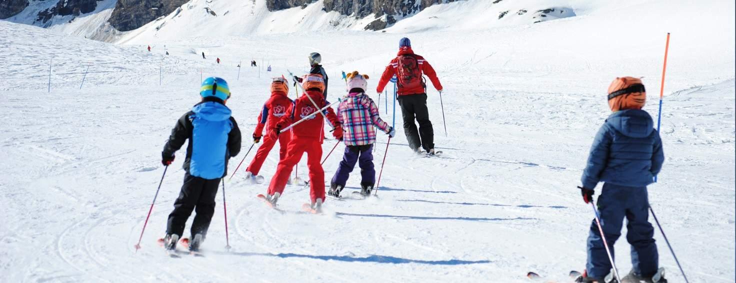 Червиния лыжная школа