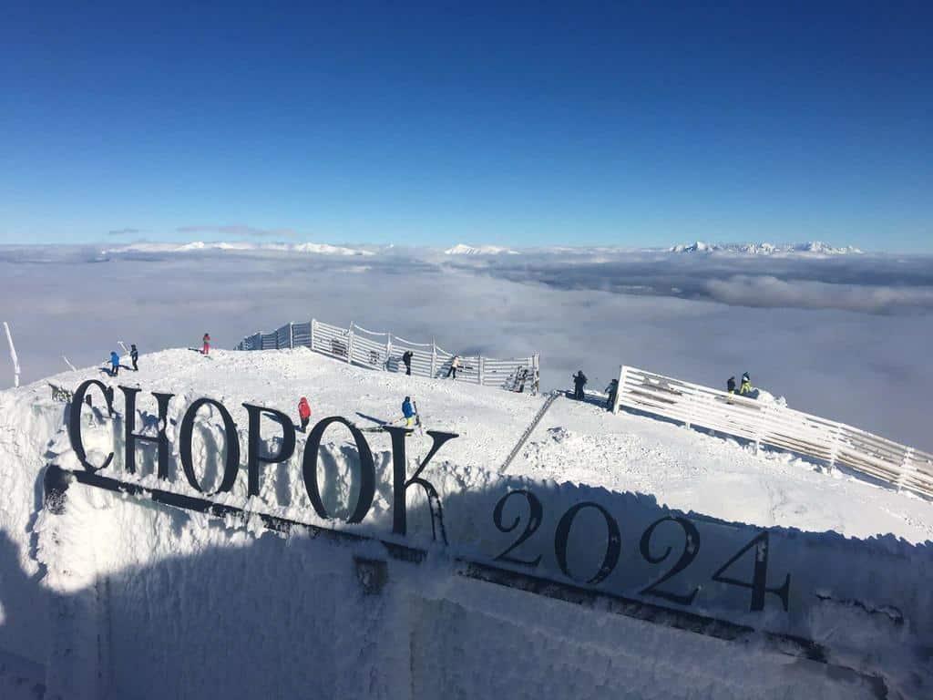 Горные лыжи, Ясна,  Хопок (Chopok) - Словакия, Низкие Татры