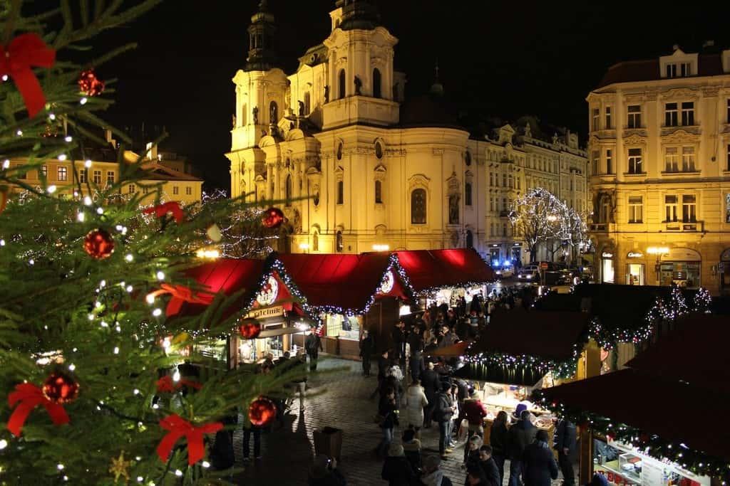 Рождественский рынок, Будапешт зимой (Новый год 2021)