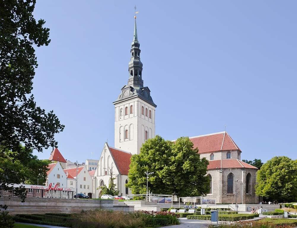 Церковь Святого Николая ( Нигулисте ( Niguliste kirik)