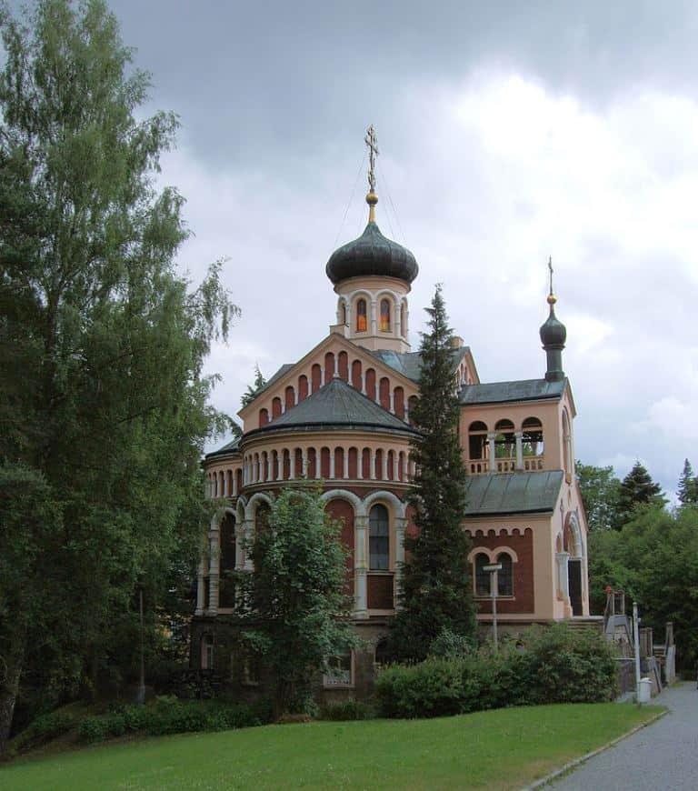 Церковь святого равноапостольного князя Владимира - православная церковь в Марианске-Лазне