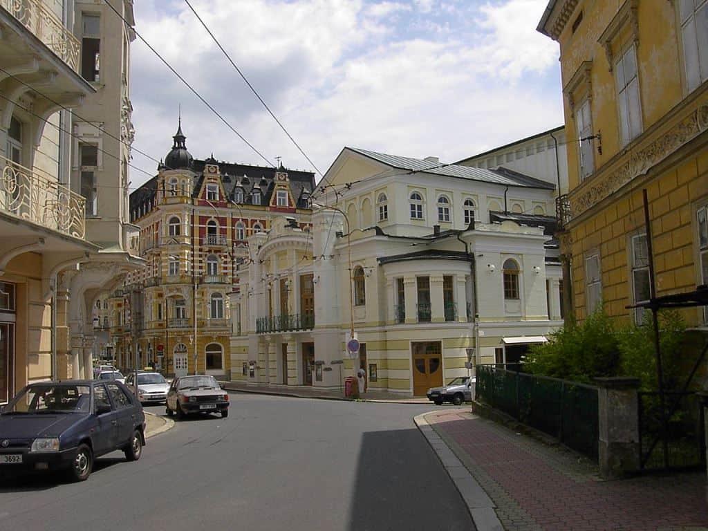 Городской театр, Марианске-Лазне