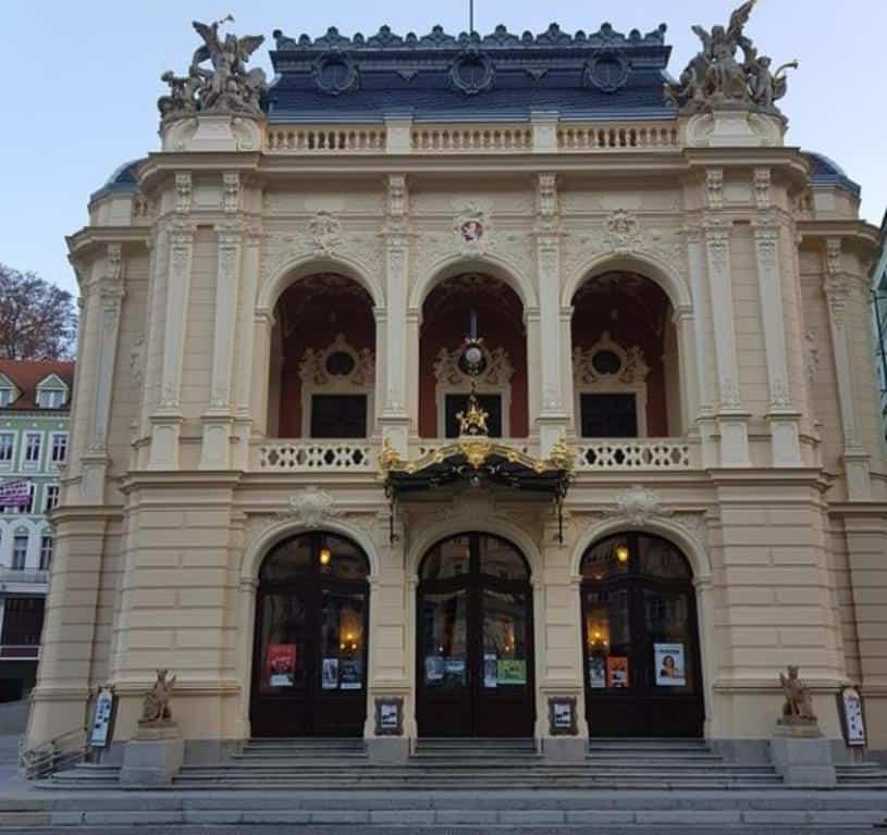 Городской театр Карловых Вар