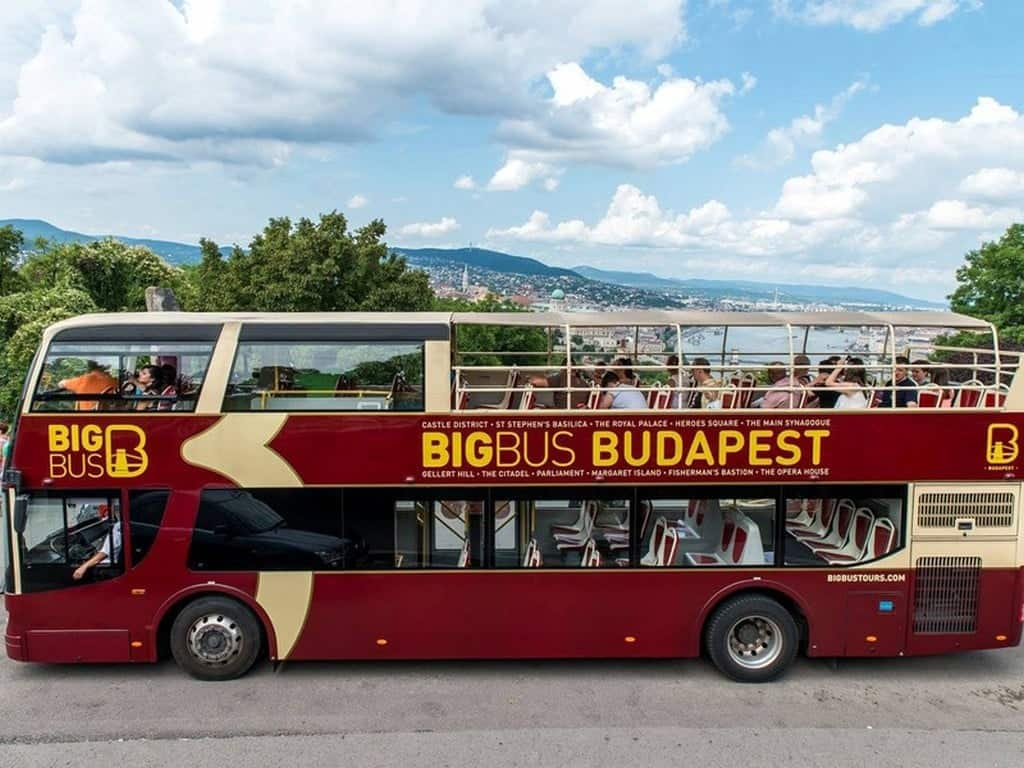 "Туристический автобус ""Big Bus"", Будапешт"