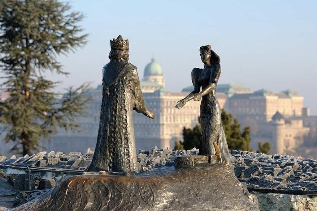 Композиция - Буда встречает Пешт, гора Геллерт (Будапешт (Венгрия))