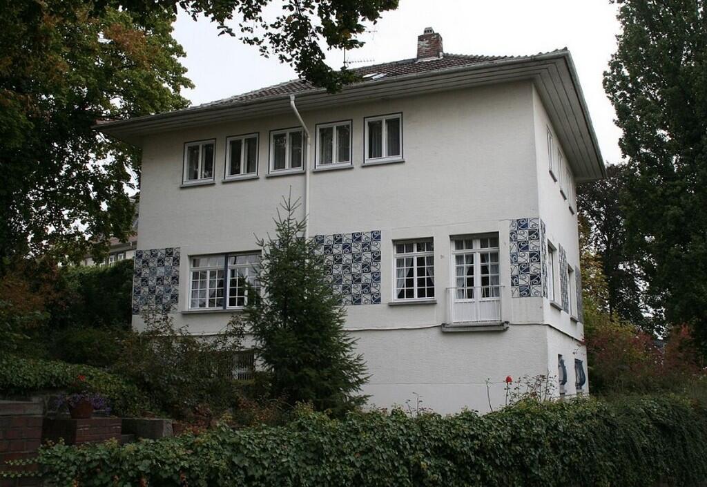 Дом Ольбриха, 1901