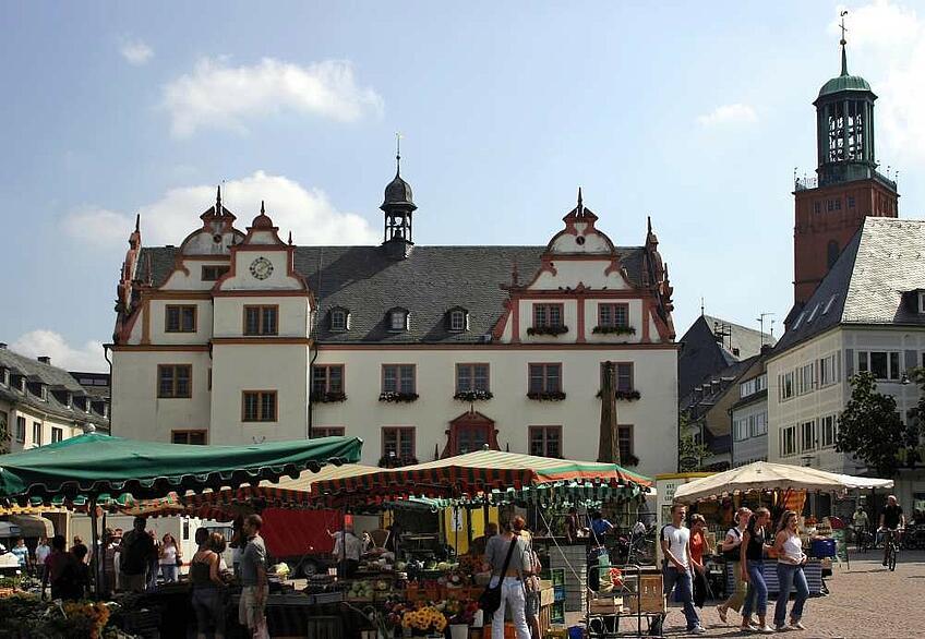 Рыночная площадь, Дармштадт