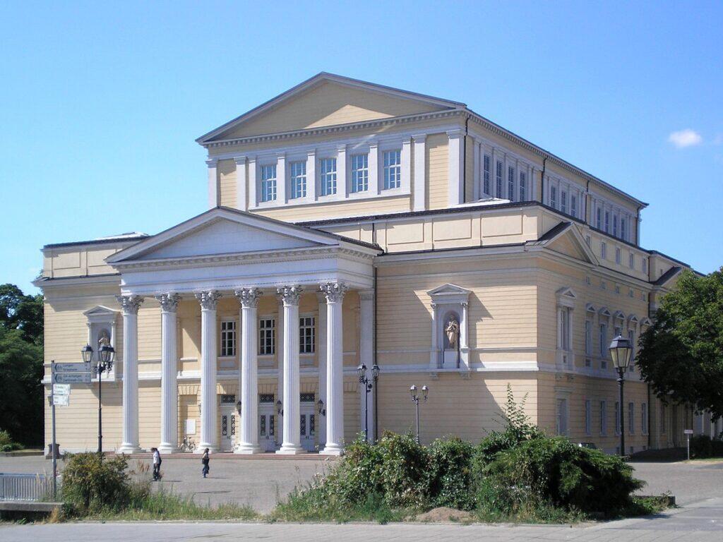 Старый театр, Дармштадт