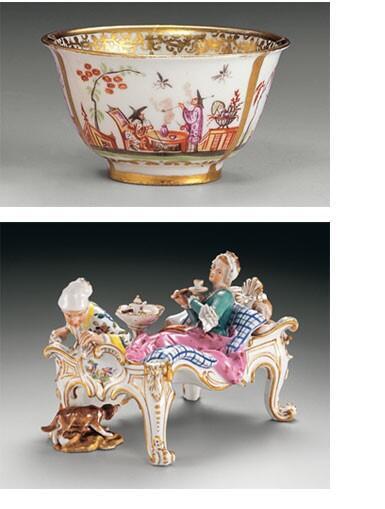 Музея фарфора - Großherzoglich-Hessische Porzellansammlung