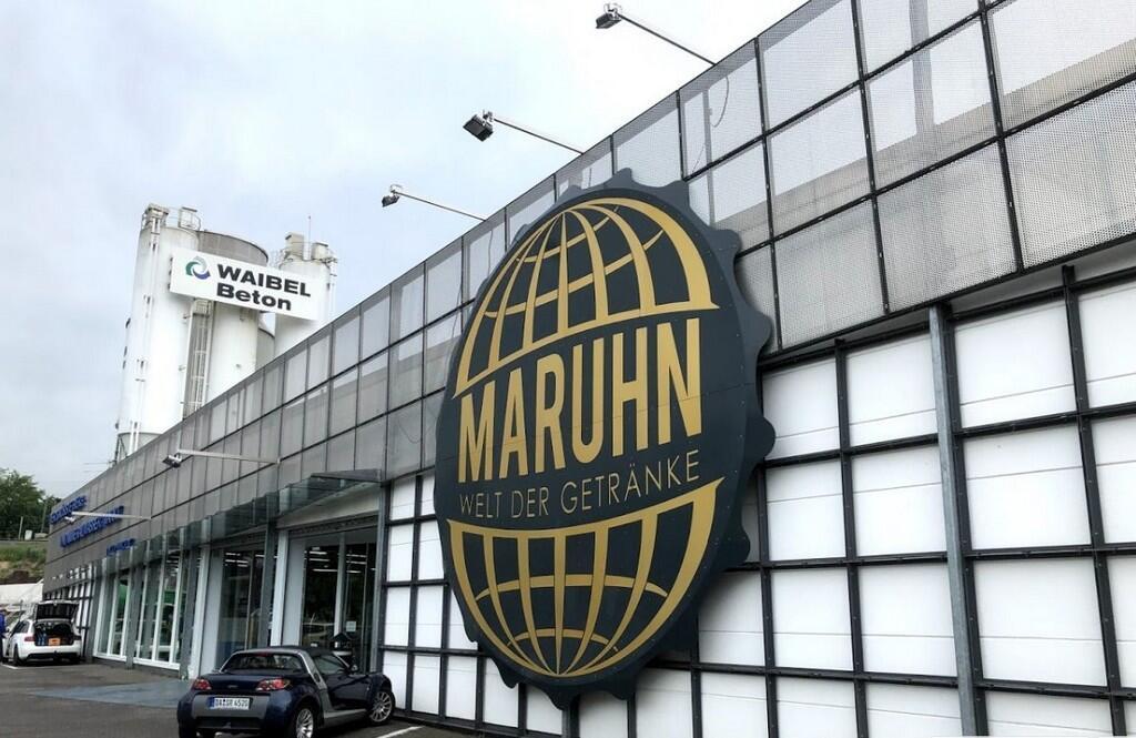 Крытый рынок Geträenkemarkt Maruhn