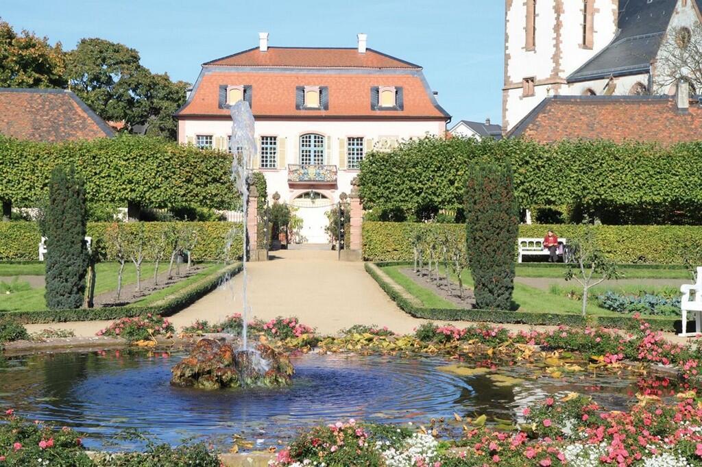 Дворец князя Георгия в Herrengarten, Дармштадт
