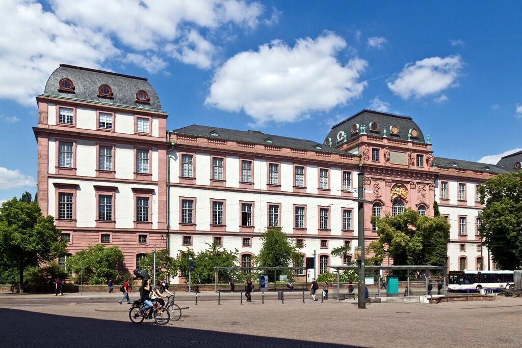 Герцогский дворец в Дармштадте (Residenzschloss Darmstadt)