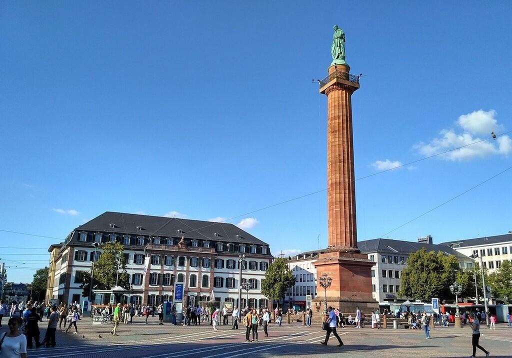 Площадь Луизы (Luisenplatz)- является центром Дармштадта