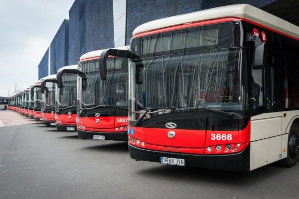 Автобусы в Барселоне - Барселона на общественном транспорте