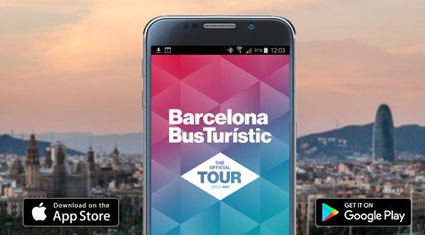 Мобильное приложение Barcelona Bus Turístic