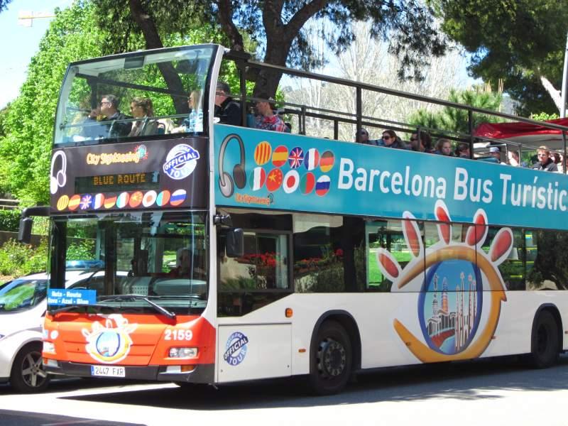 Туристический автобус Barcelona Bus Turístic - Барселона на общественном транспорте