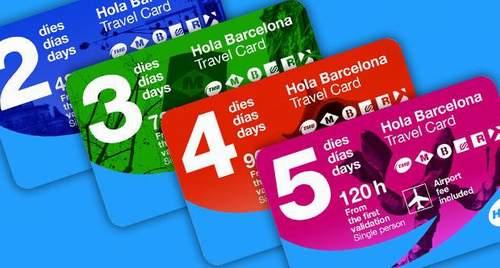 Карта Hola Barcelona Travel Card