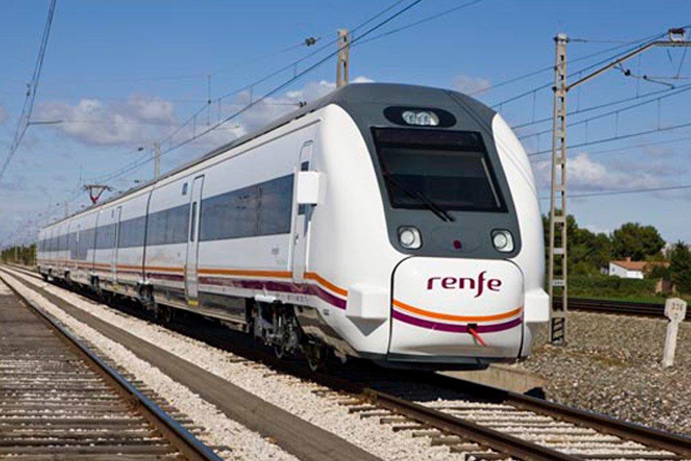 Пригородный поезд национальных железных дорог - RENFE