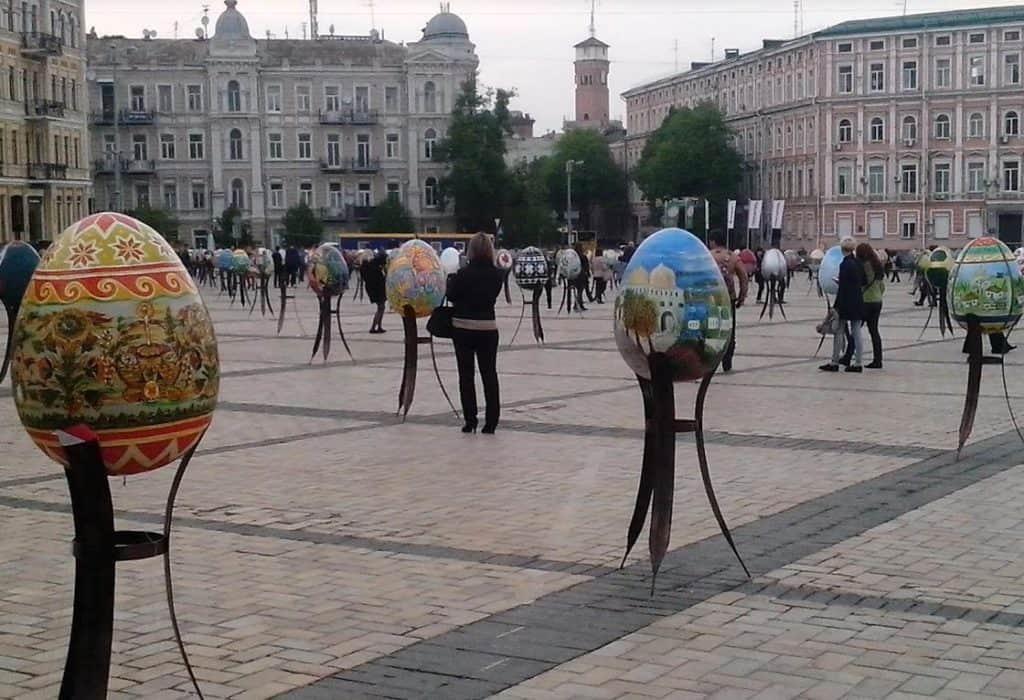 Фестиваль писанок - Киев