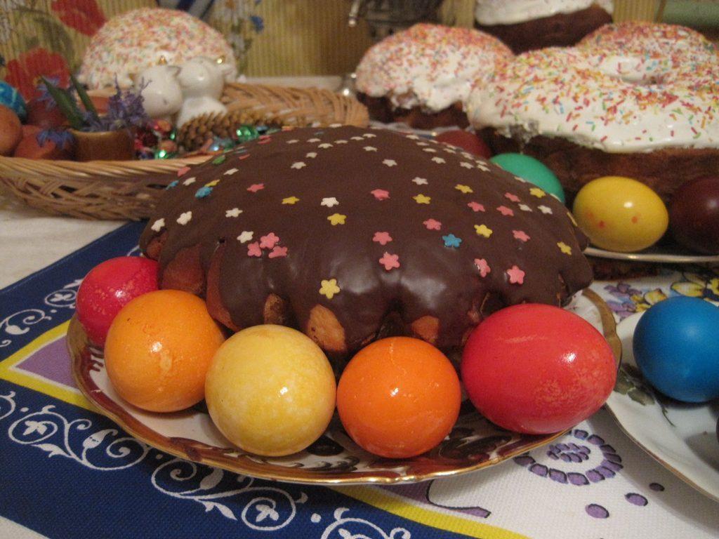 Шоколадная глазурь для кулича