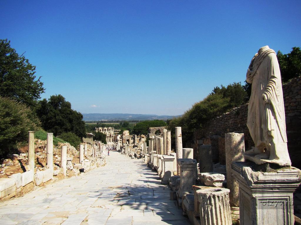 Улица Куретов - Древний город Эфес Турция