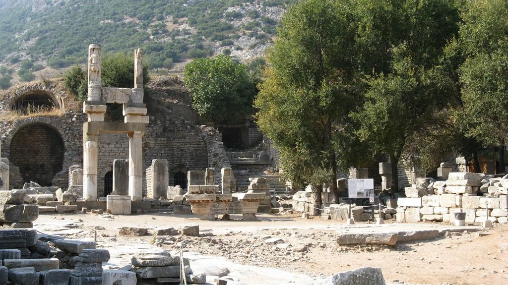 Храм Домициана - Эфес (Турция)