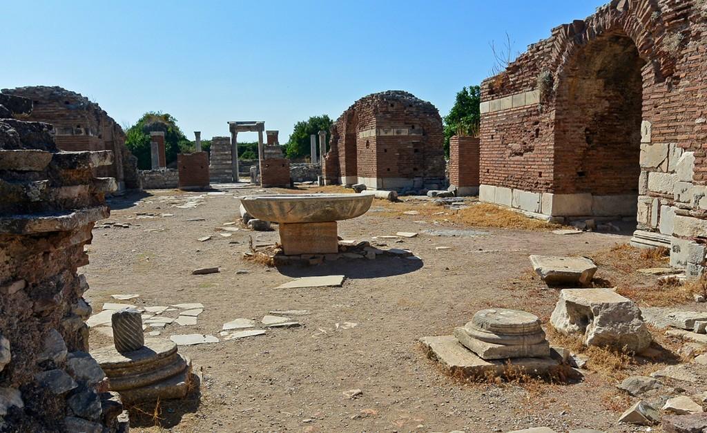 Церковь Девы Марии в Эфесе - Древний город Эфес Турция