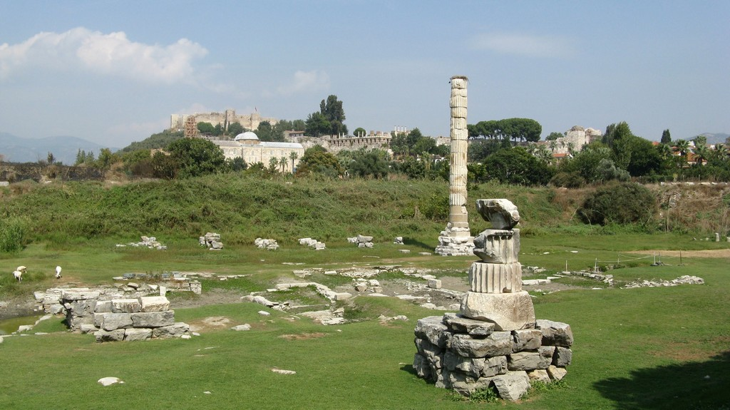 Храм Артемиды, Эфес — одно из семи чудес света