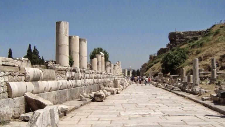 Эфесская Мраморная Дорога