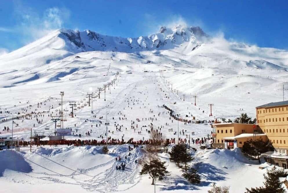 Горнолыжный центр «Эрджиес» (Erciyes Ski Resort), Горнолыжные курорты Турции