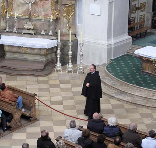 Этталь монастырь, экскурсия по базилике
