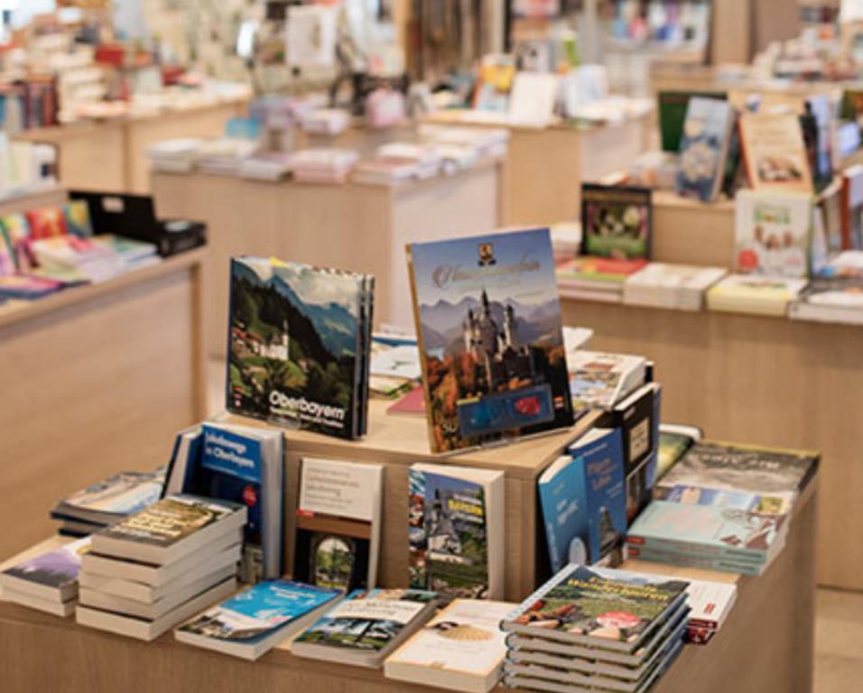 Книжный магазин Эттальского монастыря