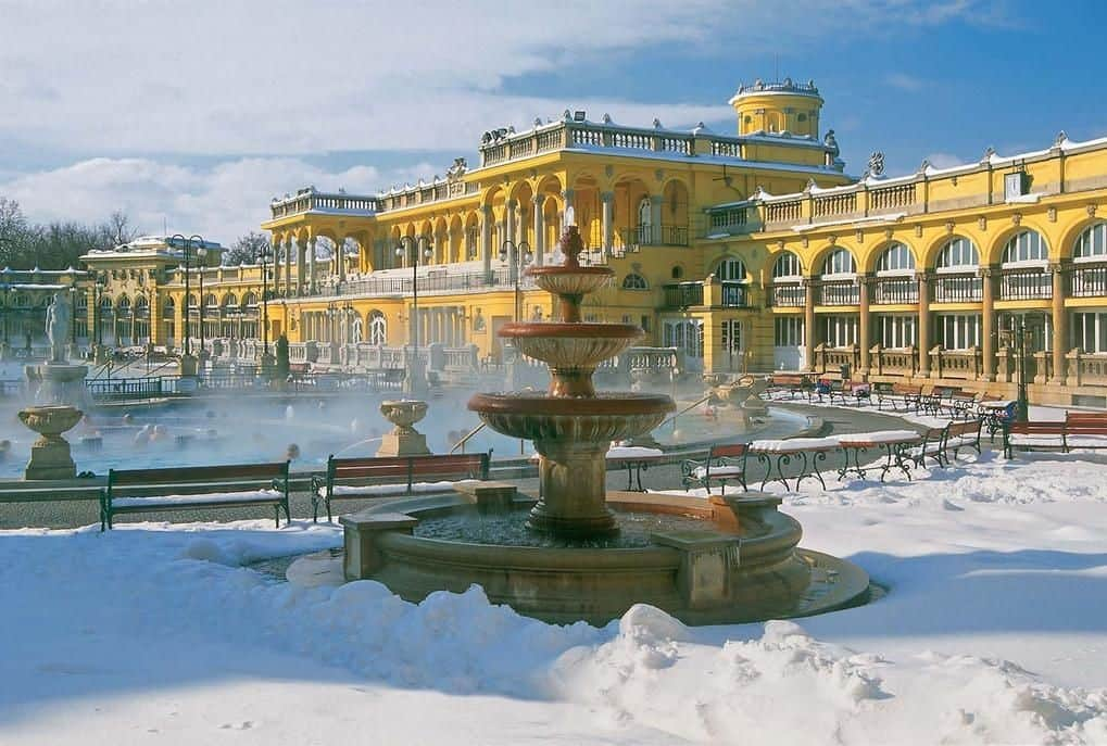Будапешт Купальни Сеченьи Туры по Европе
