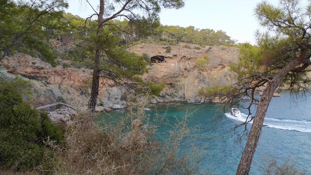Бухта с пещерами, Фаселис - Турция