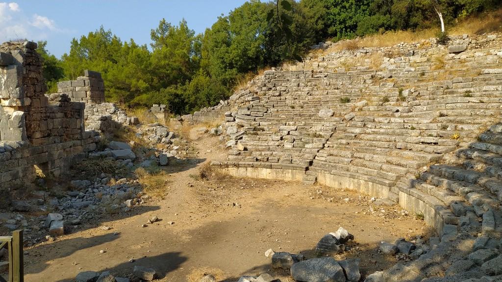 Кавеа театра древнего города