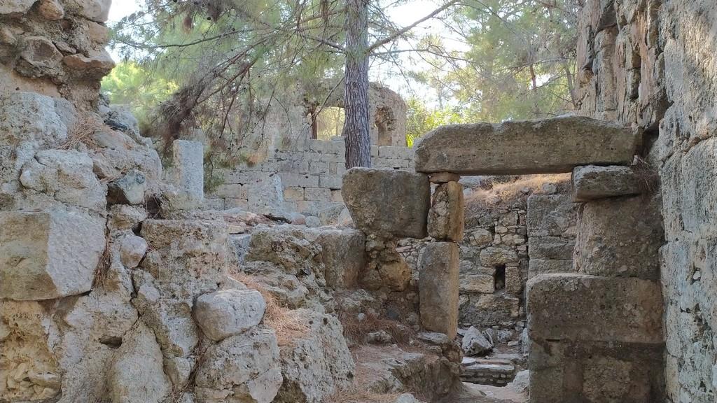 Руины древнего города Фаселис, Турция